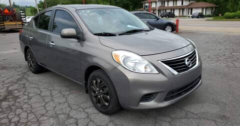 2013 Nissan Versa for sale at Ford's Auto Sales in Kingsport TN
