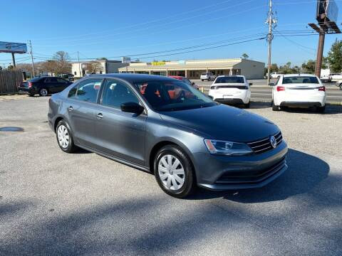 2016 Volkswagen Jetta for sale at Lucky Motors in Panama City FL