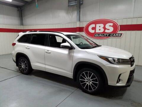 2018 Toyota Highlander for sale at CBS Quality Cars in Durham NC