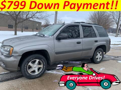 2005 Chevrolet TrailBlazer for sale at World Automotive in Euclid OH
