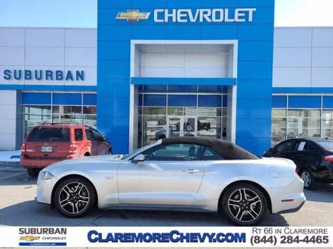 2019 Ford Mustang for sale at Suburban Chevrolet in Claremore OK