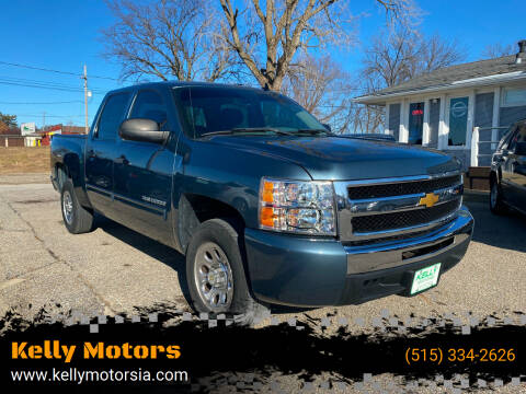 2012 Chevrolet Silverado 1500 for sale at Kelly Motors in Johnston IA