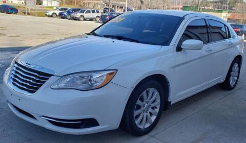2012 Chrysler 200 for sale at COOPER AUTO SALES in Oneida TN