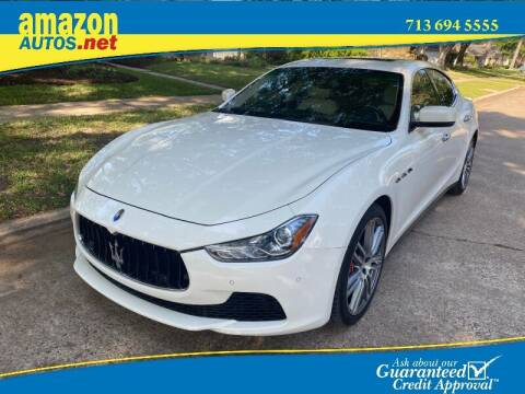 2016 Maserati Ghibli for sale at Amazon Autos in Houston TX