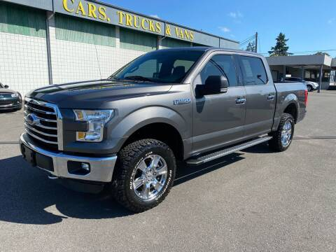 2015 Ford F-150 for sale at Vista Auto Sales in Lakewood WA