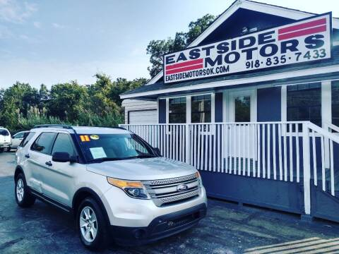 2011 Ford Explorer for sale at EASTSIDE MOTORS in Tulsa OK