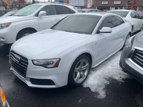 2015 Audi A5 for sale at Park Avenue Auto Lot Inc in Linden NJ