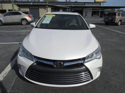 2015 Toyota Camry for sale at Maluda Auto Sales in Valdosta GA