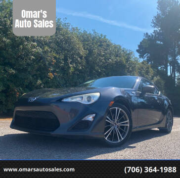 2013 Scion FR-S for sale at Omar's Auto Sales in Martinez GA