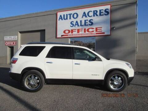 2008 GMC Acadia for sale at Auto Acres in Billings MT