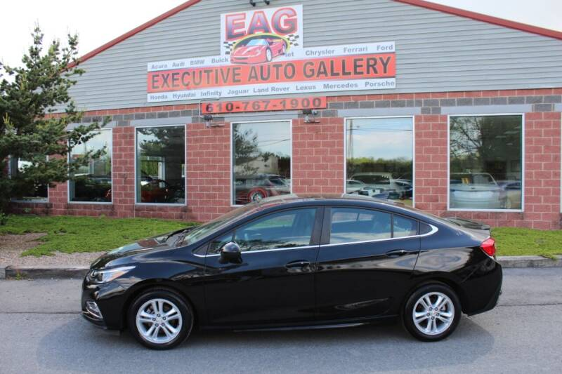 2018 Chevrolet Cruze for sale at EXECUTIVE AUTO GALLERY INC in Walnutport PA
