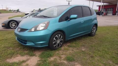 2013 Honda Fit for sale at 6 D's Auto Sales MANNFORD in Mannford OK