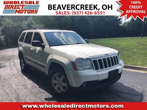 2008 Jeep Grand Cherokee for sale at WHOLESALE DIRECT MOTORS in Beavercreek OH