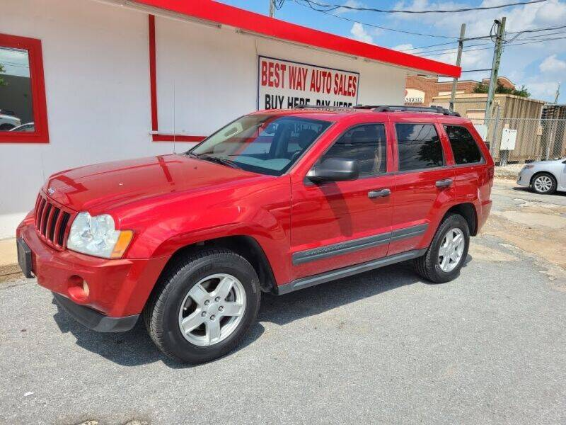 2005 Jeep Grand Cherokee for sale at Best Way Auto Sales II in Houston TX