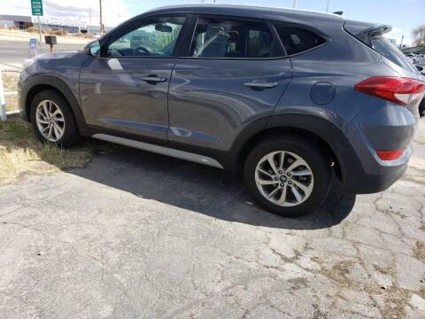 2018 Hyundai Tucson for sale at ELITE MOTORS in Victorville CA