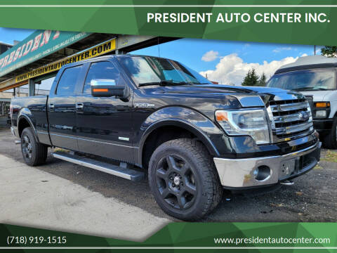 2014 Ford F-150 for sale at President Auto Center Inc. in Brooklyn NY