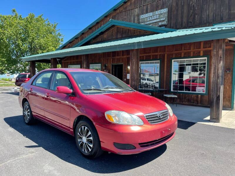 2006 Toyota Corolla for sale at Coeur Auto Sales in Hayden ID