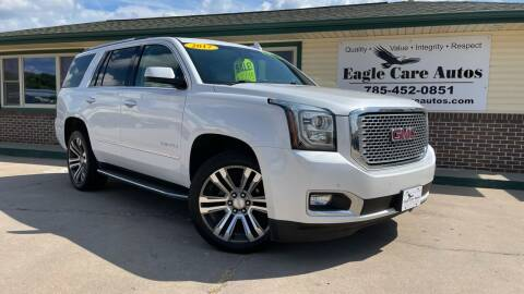2017 GMC Yukon for sale at Eagle Care Autos in Mcpherson KS