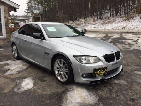 2011 BMW 3 Series for sale at Bladecki Auto in Belmont NH