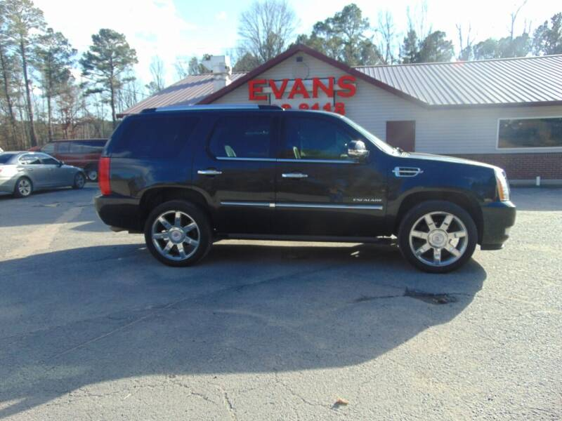 2011 Cadillac Escalade for sale at Evans Motors Inc in Little Rock AR