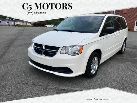 2012 Dodge Grand Caravan for sale at C5 Motors in Marietta GA