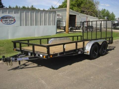 2021 83 X 16 LOAD TRAIL UTILITY for sale at Midwest Trailer Sales & Service in Agra KS