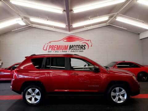 2011 Jeep Compass for sale at Premium Motors in Villa Park IL