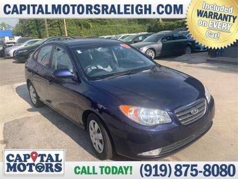 2008 Hyundai Elantra for sale at Capital Motors in Raleigh NC