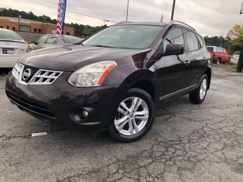 2012 Nissan Rogue for sale at Atlas Auto Sales in Smyrna GA