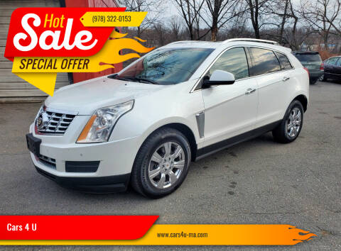 2015 Cadillac SRX for sale at Cars 4 U in Haverhill MA