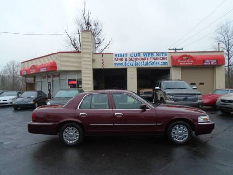 2008 Mercury Grand Marquis for sale at Bickel Bros Auto Sales, Inc in Louisville KY