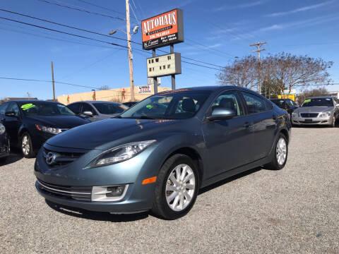 2012 Mazda MAZDA6 for sale at Autohaus of Greensboro in Greensboro NC