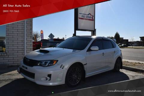 2013 Subaru Impreza for sale at All Star Auto Sales in Pleasant Grove UT