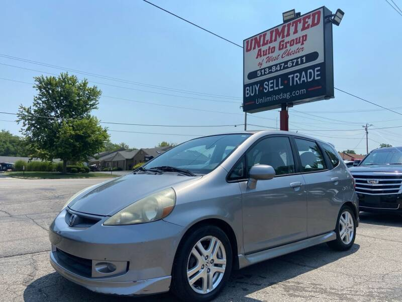 2007 Honda Fit for sale at Unlimited Auto Group in West Chester OH