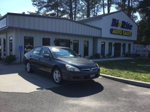 2006 Honda Accord for sale at Bi Rite Auto Sales in Seaford DE
