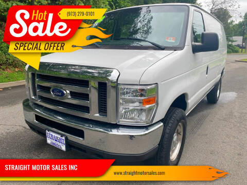 2010 Ford E-Series Cargo for sale at STRAIGHT MOTOR SALES INC in Paterson NJ