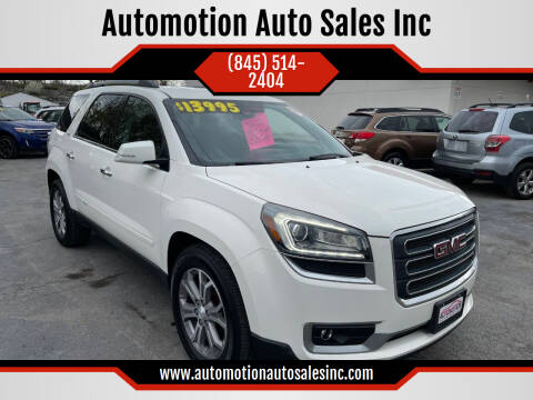 2013 GMC Acadia for sale at Automotion Auto Sales Inc in Kingston NY