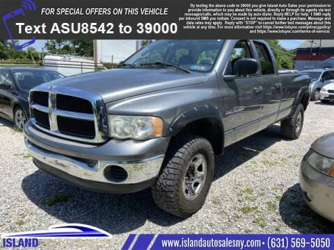2005 Dodge Ram Pickup 2500 for sale at Island Auto Sales in East Patchogue NY
