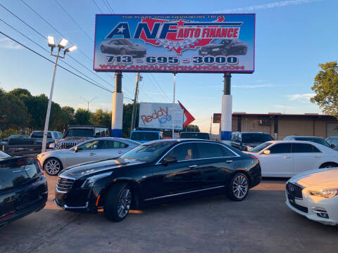 2017 Cadillac CT6 for sale at ANF AUTO FINANCE in Houston TX