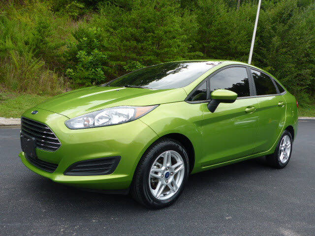 2019 Ford Fiesta for sale at RUSTY WALLACE KIA OF KNOXVILLE in Knoxville TN