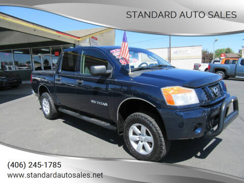 2008 Nissan Titan for sale at Standard Auto Sales in Billings MT