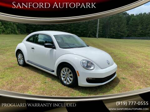 2013 Volkswagen Beetle for sale at Sanford Autopark in Sanford NC