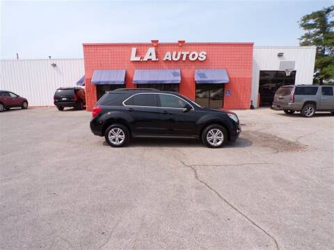 2012 Chevrolet Equinox for sale at L A AUTOS in Omaha NE