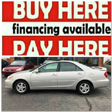 2004 Toyota Camry for sale at BP Auto Finders in Durham NC