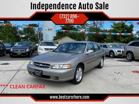 1999 Nissan Altima for sale at Independence Auto Sale in Bordentown NJ