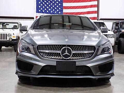2016 Mercedes-Benz CLA for sale at Texas Motor Sport in Houston TX