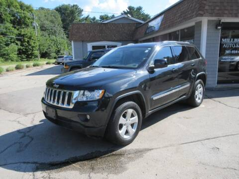2012 Jeep Grand Cherokee for sale at Millbrook Auto Sales in Duxbury MA
