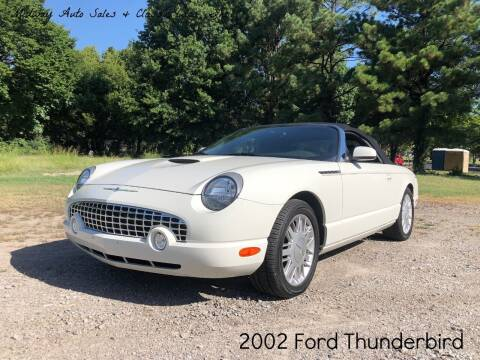 2002 Ford Thunderbird for sale at MIDWAY AUTO SALES & CLASSIC CARS INC in Fort Smith AR