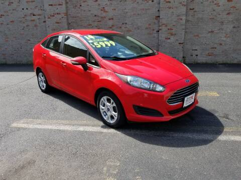 2014 Ford Fiesta for sale at GTR Auto Solutions in Newark NJ