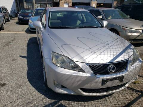 2007 Lexus IS 250 for sale at Jimmys Auto INC in Washington DC
